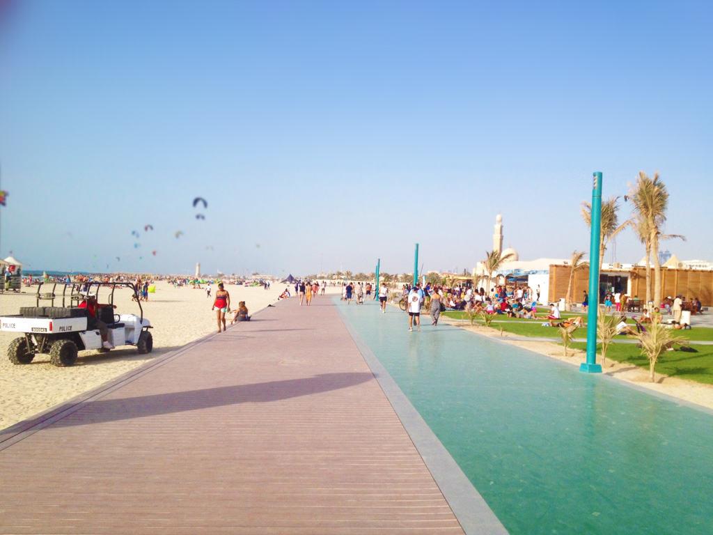 Top Free Beaches In Dubai Hometown Dubai Travel Blog