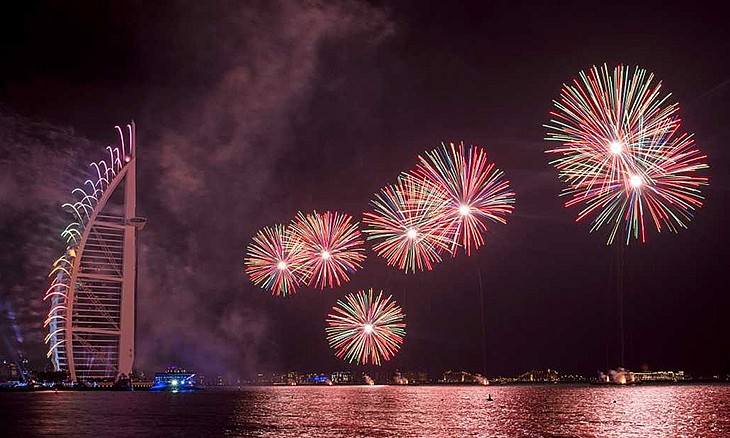 UAE National Day Fireworks
